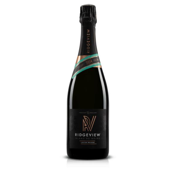 Ridgeview Blanc de Noirs 2014 bottle shot