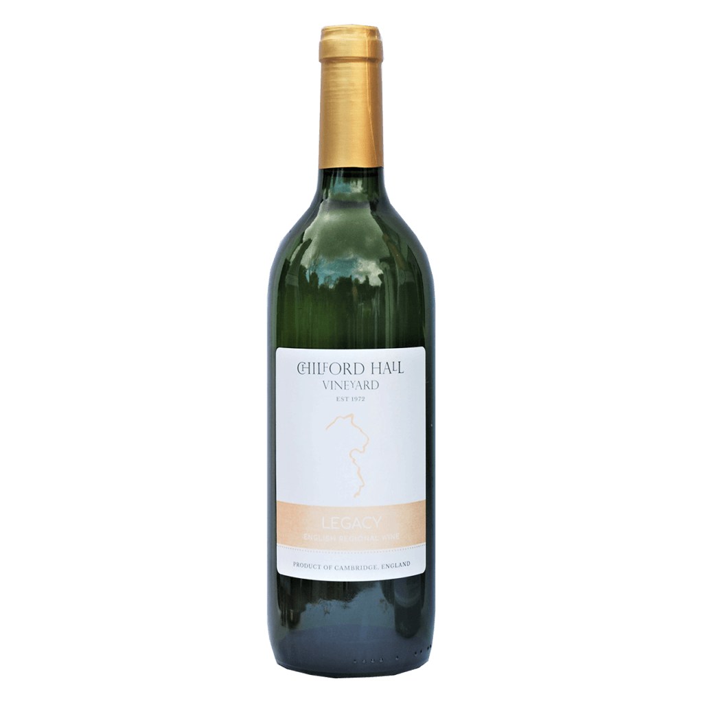 Chilford Hall Legacy 2016 bottle shot English White Wine