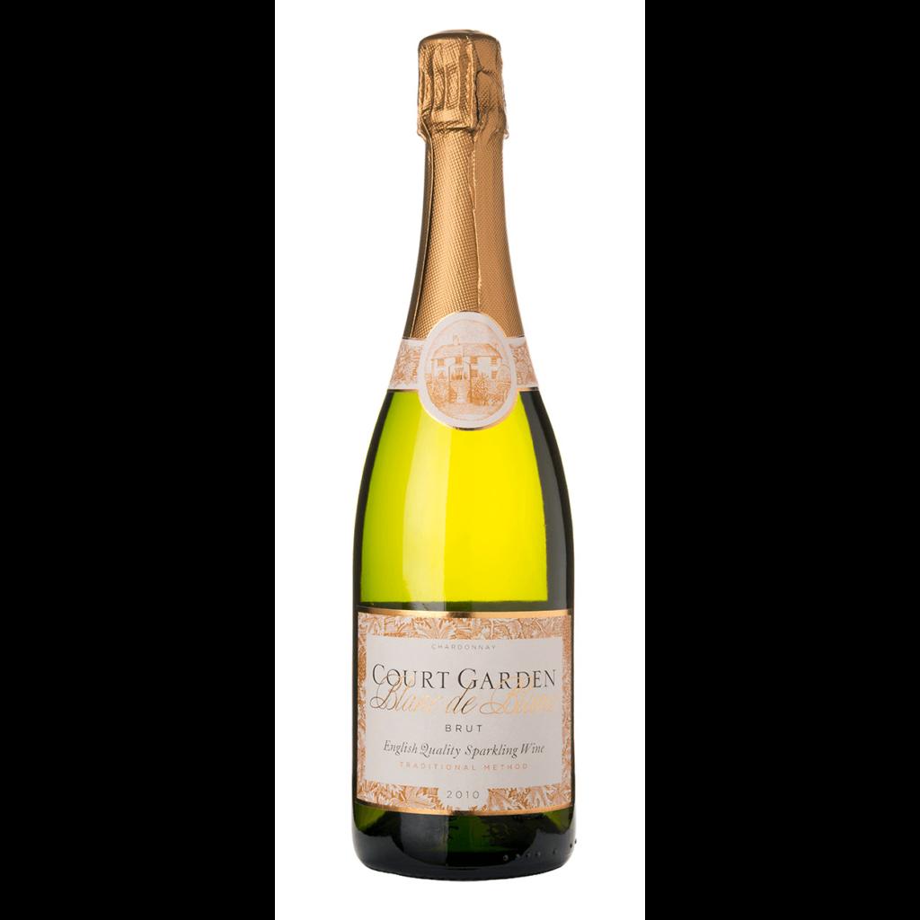 Court Garden Blanc de Blancs 2014 sparkling wine