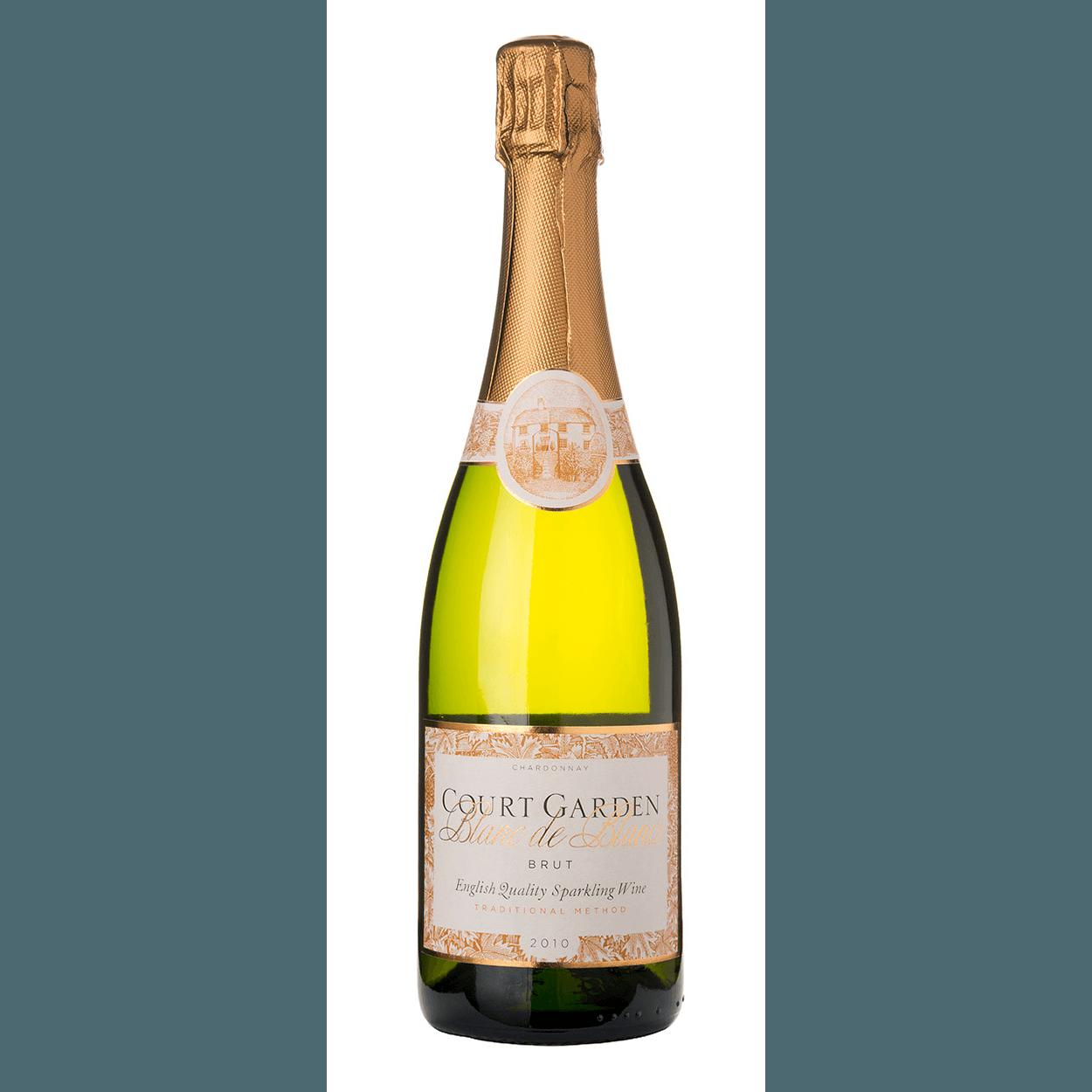 Court Garden Blanc de Blancs 2010 English Sparkling Wine