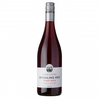 Court Garden Ditchling Pinot Noir 2018 bottle shot English wine