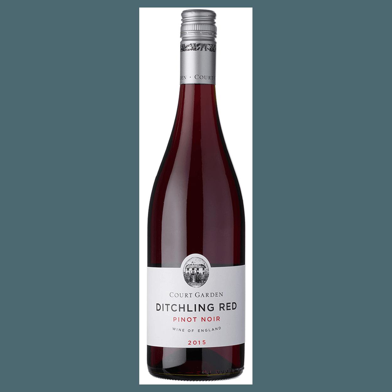 Court Garden Ditchling Pinot Noir 2018 bottle shot English wine