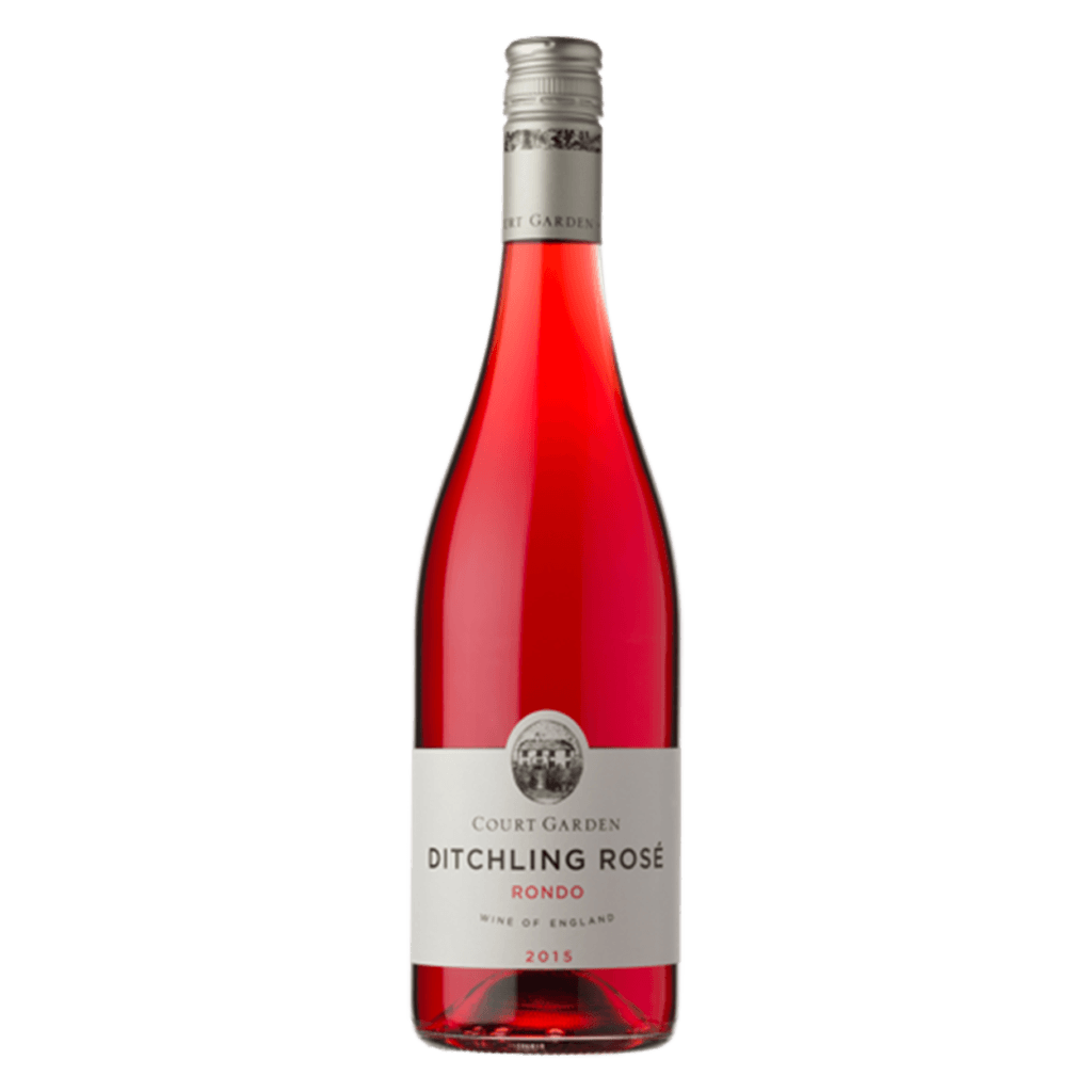 Court Garden Ditchling Rosé 2018 English rosé wine