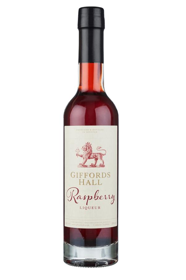 Giffords Hall Raspberry Liqueur NV bottle shot