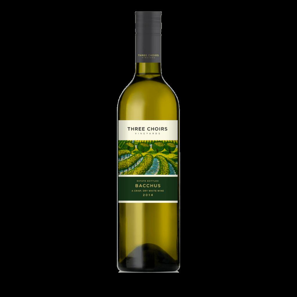 Three Choirs Vineyards Cellar Door Bacchus 2017 bottle shot