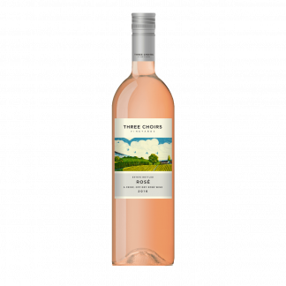 Three Choirs Vineyards Estate Reserve Rosé 2017 bottle shot