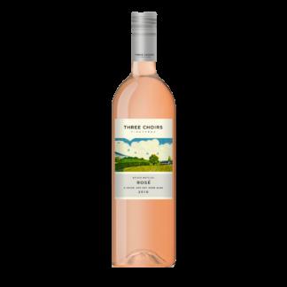 Three Choirs Vineyards Estate Reserve Rosé 2017 bottle shot