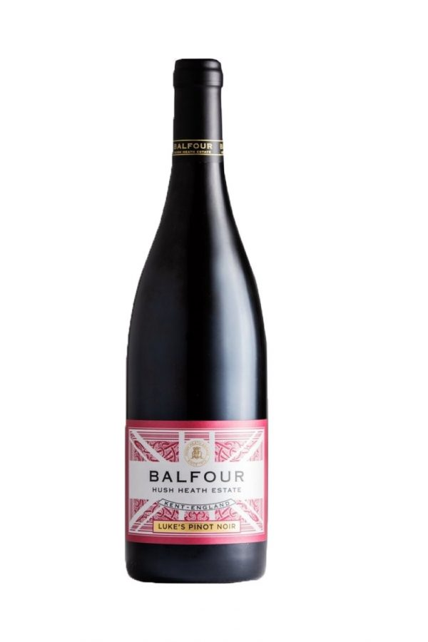 Balfour Hush Heath Lukes Pinot Noir bottle shot English wine