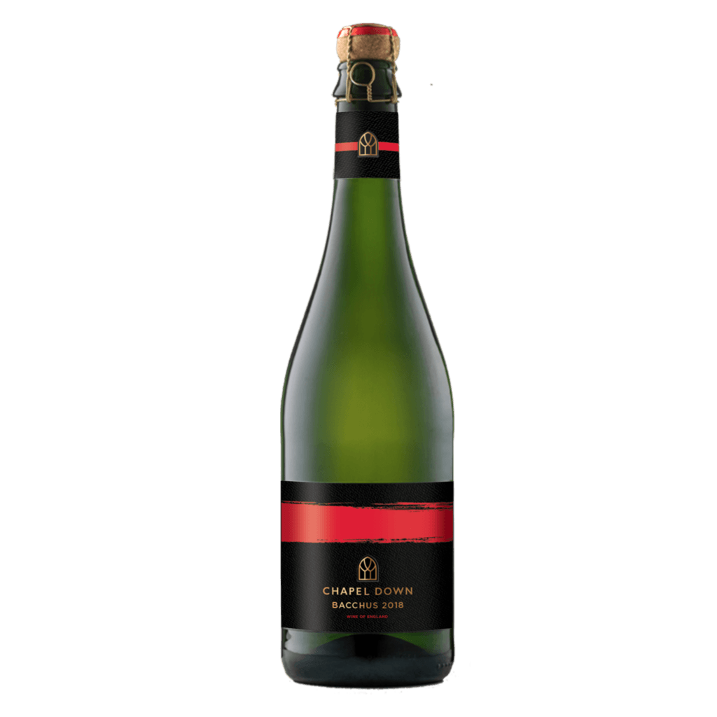 Chapel Down Sparkling Bacchus 2018 bottle shot