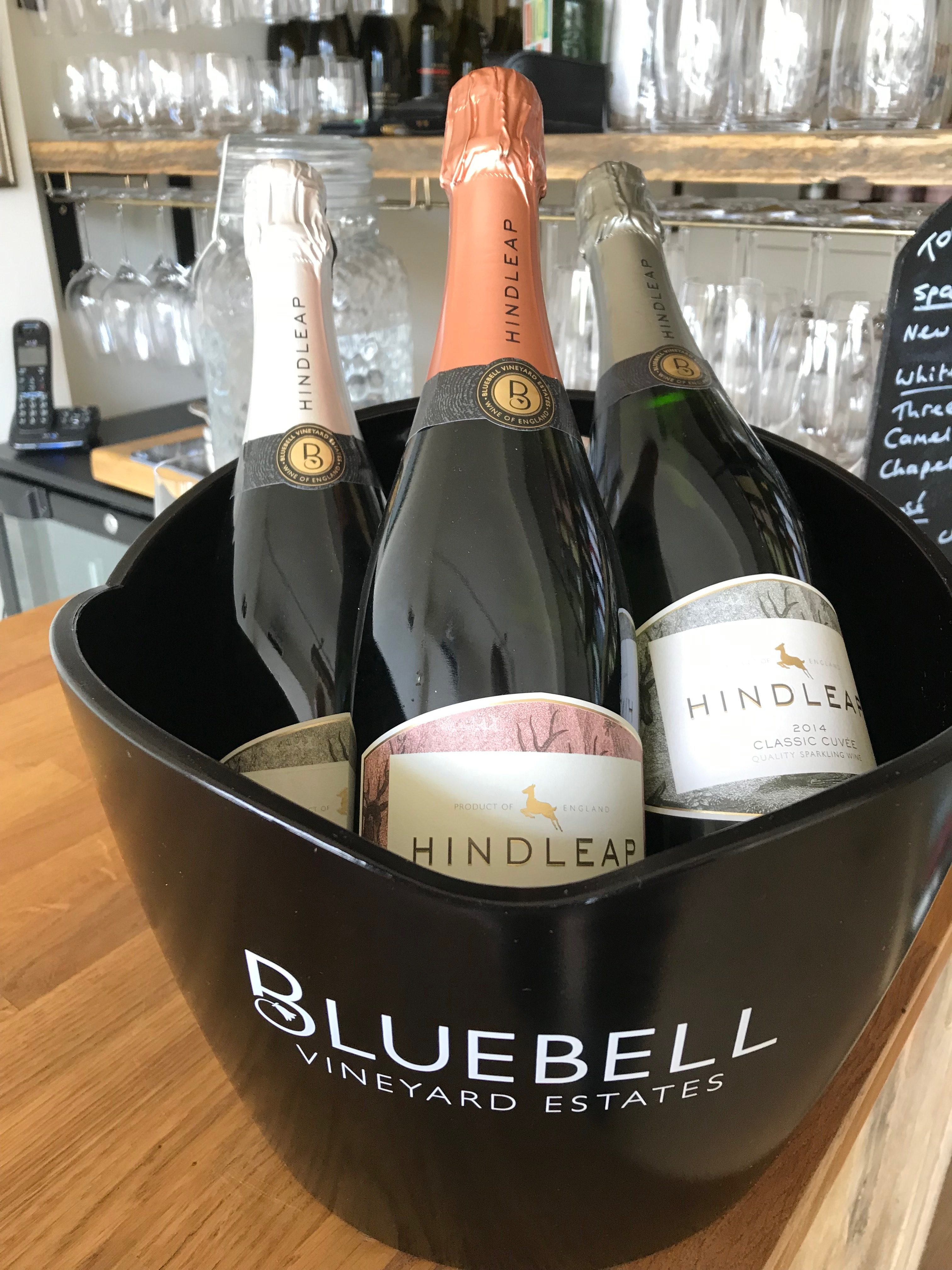 Bluebell Hindleap English Sparkling Wines