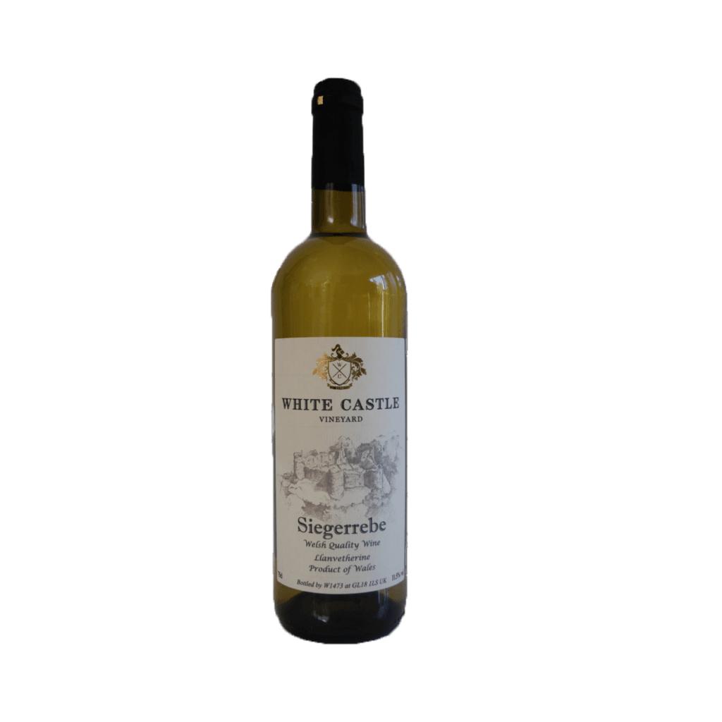 White Castle Vineyard Siegerrebe 2018 bottle shot