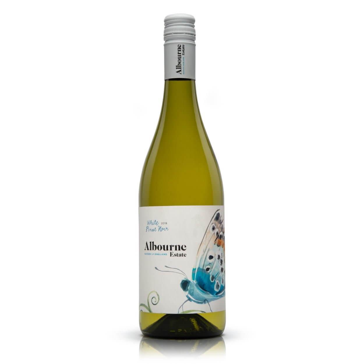 Albourne Estate White Pinot Noir 2018 English wine
