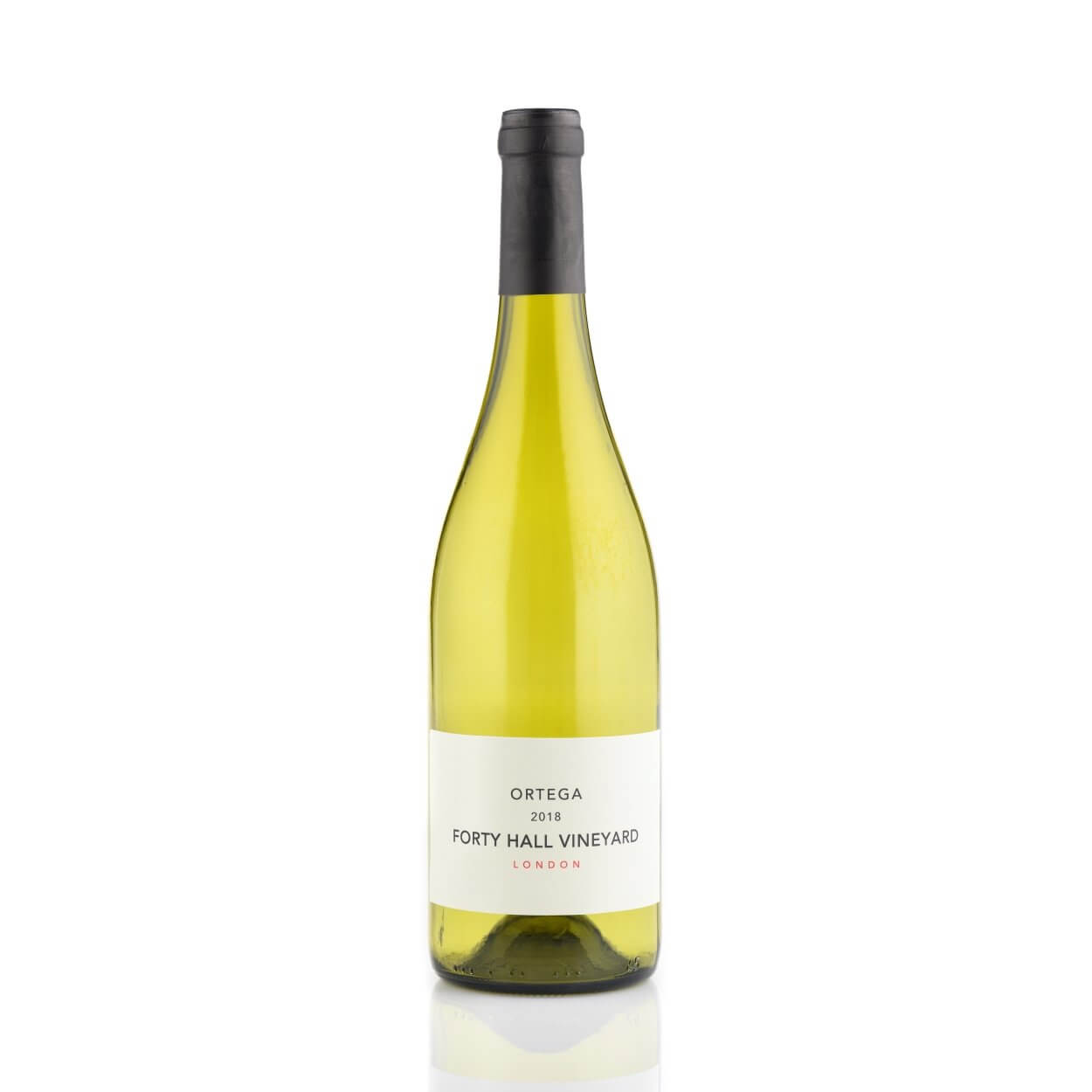 Forty Hall Vineyard Ortega 2018 English wine