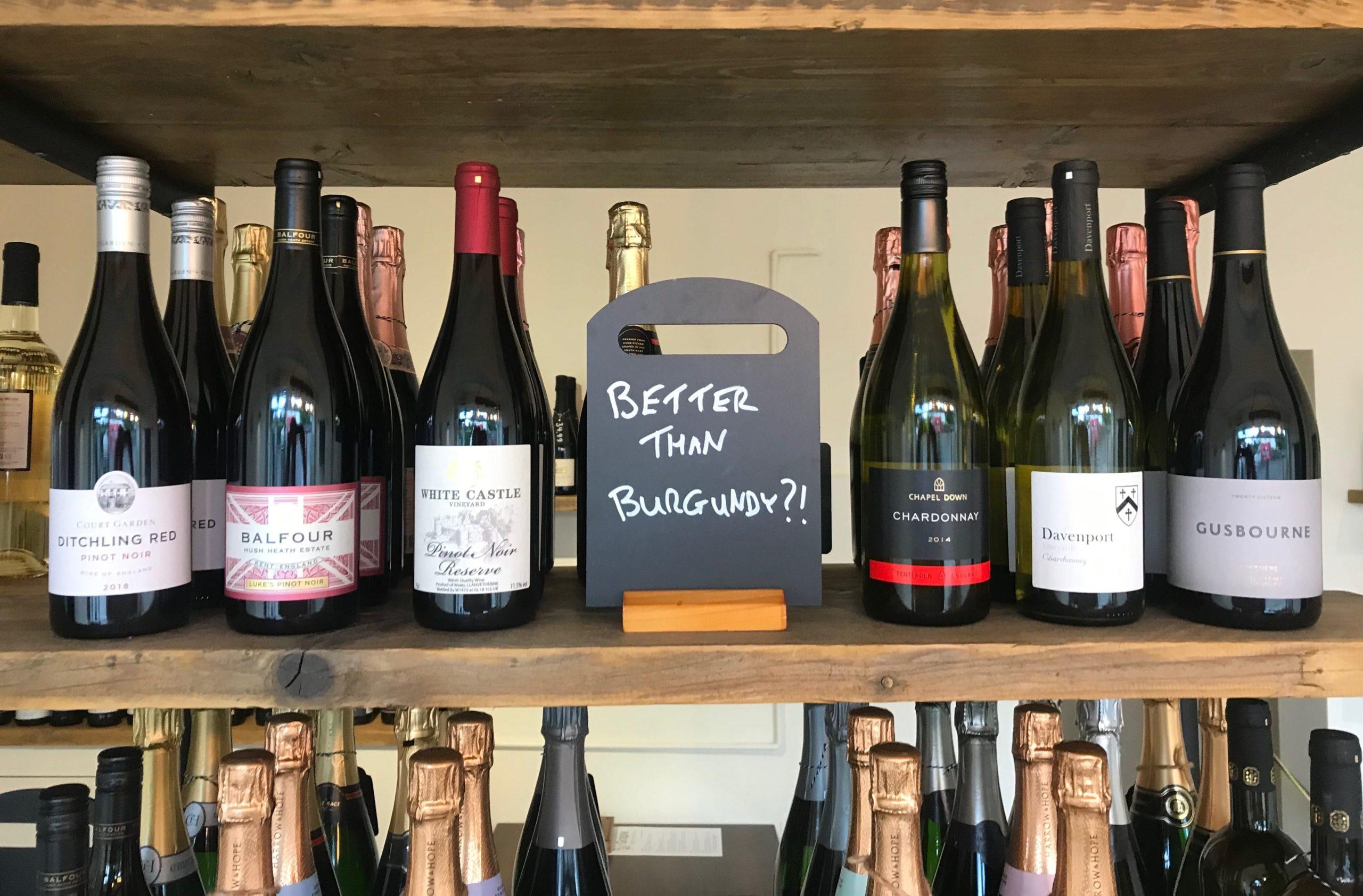 English Chardonnay English Pinot Noir