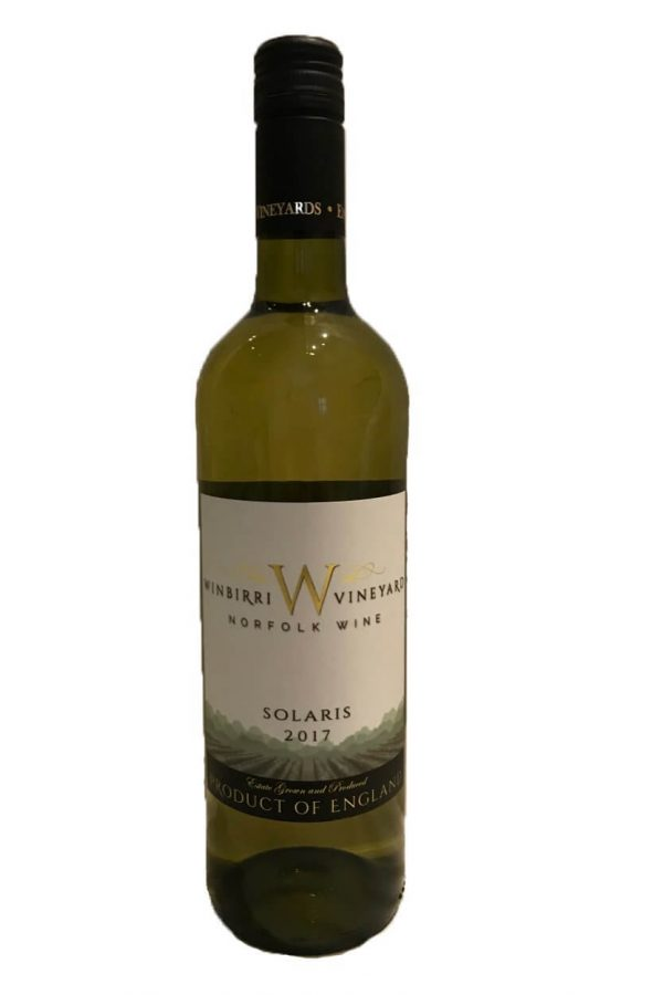Winbirri Solaris 2017 English wine