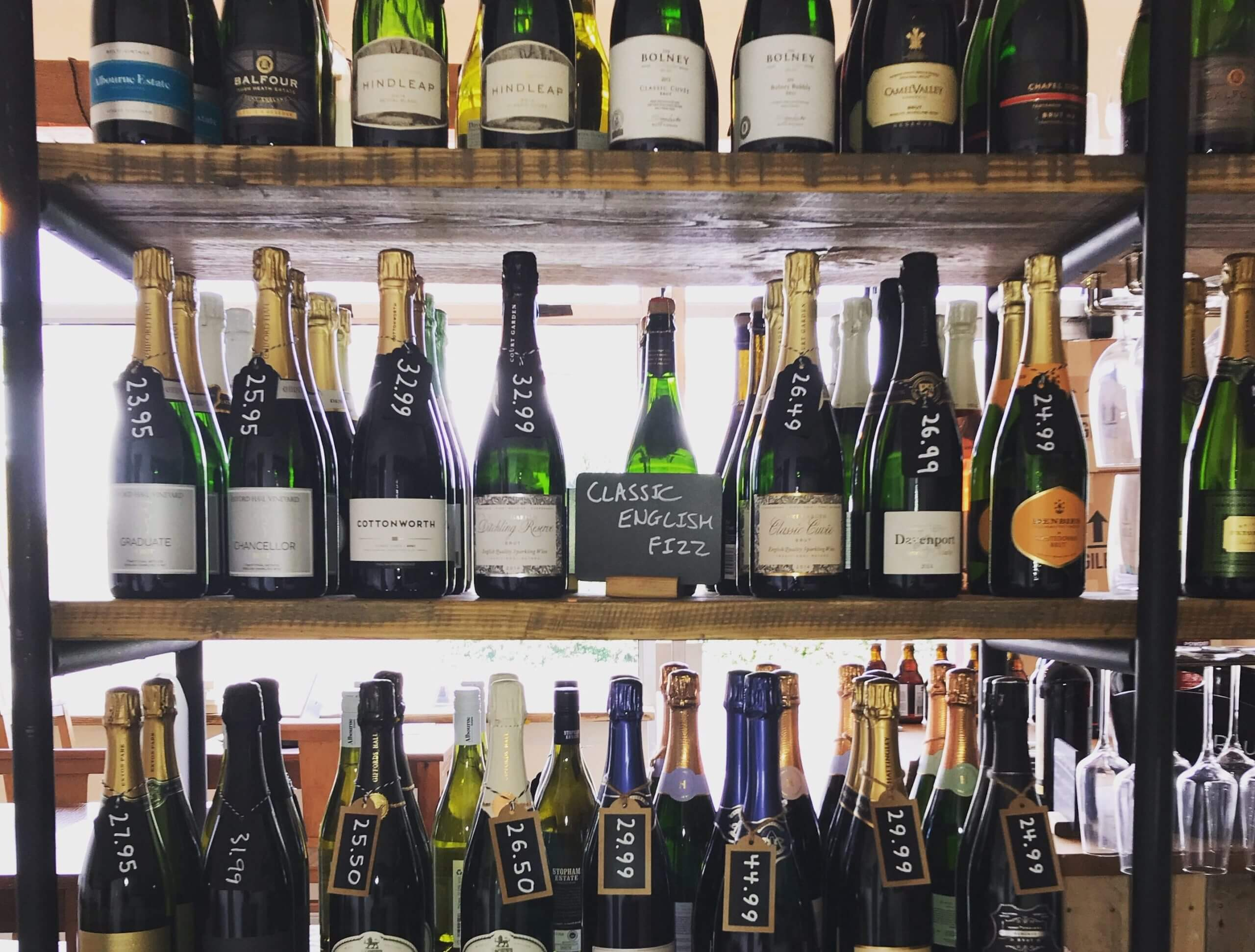 English Sparkling Wines