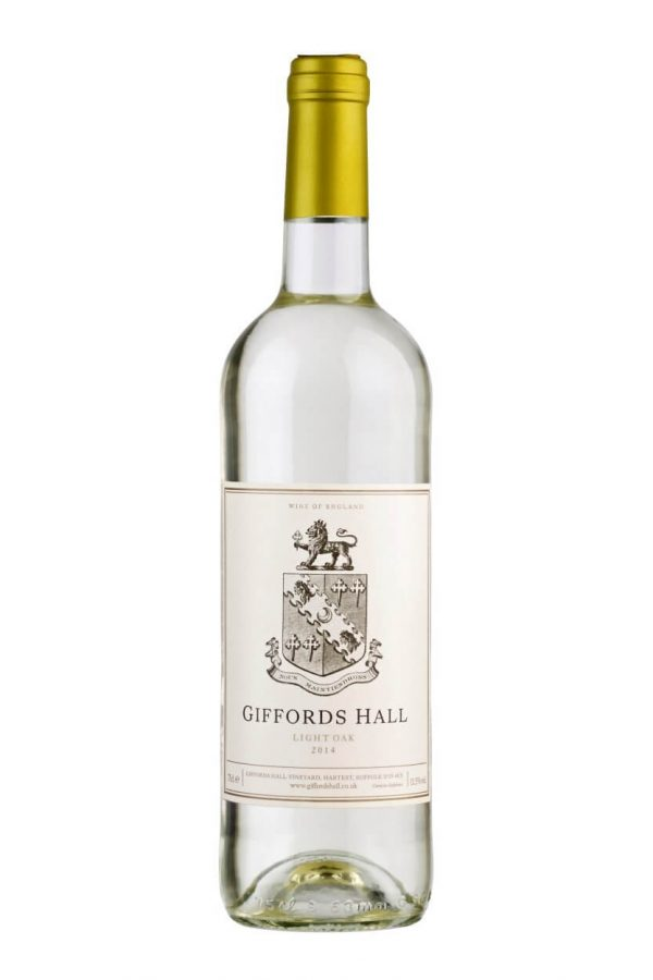 Giffords Hall Light Oak 2018 English White Wine