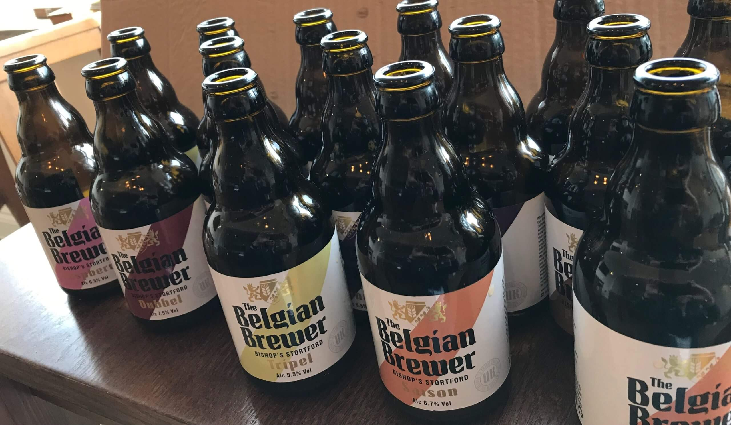 The Belgian Brewer tasting event