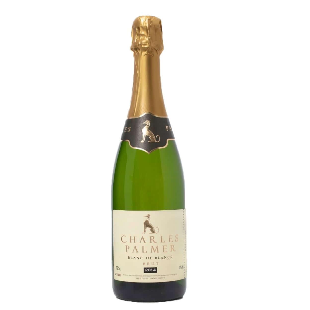 Charles Palmer Blanc de Blancs 2014 Sparkling English Wine