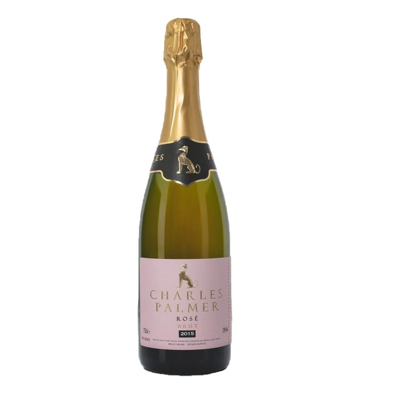Charles Palmer Rosé 2015 Sparkling English Wine