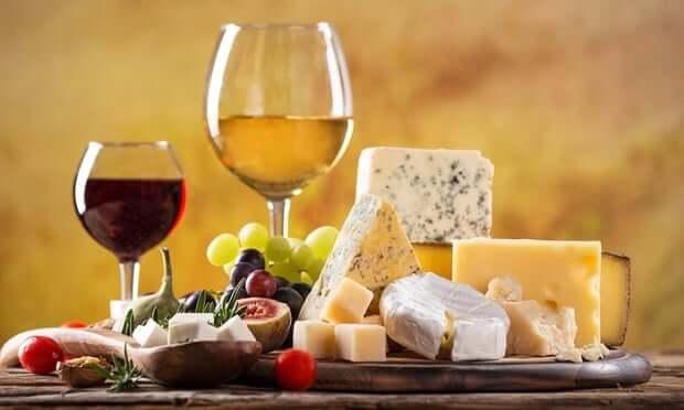 Cheese and English Wine