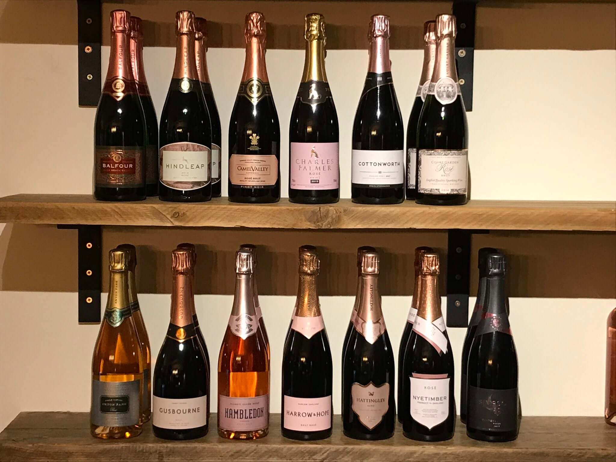 English Sparkling Wines, Sparkling Rosé