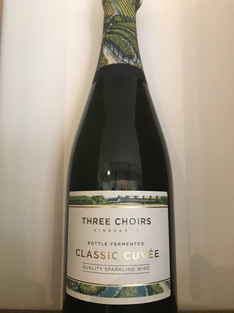 Three Choirs Classic Cuvée NV English Sparkling Wine