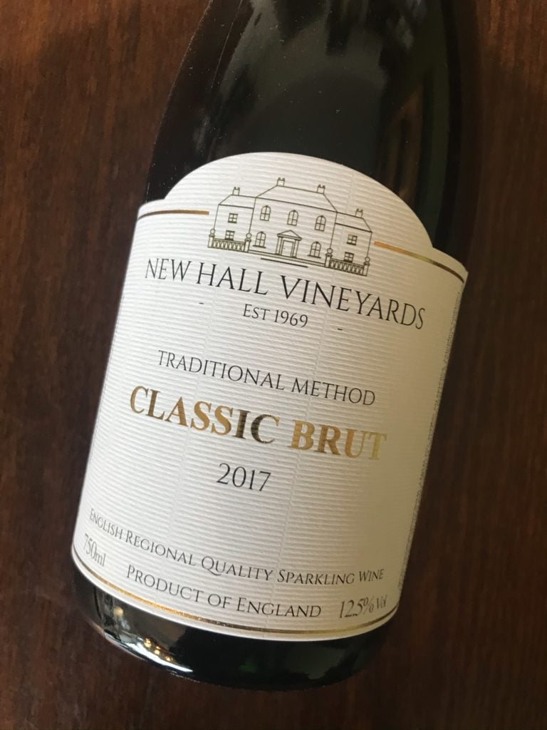 New Hall Classic Brut 2017 English Sparkling Wine