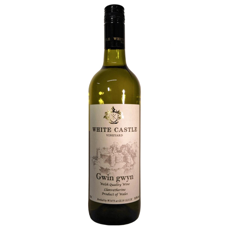 White Castle Gwin Gwyn 2018 Welsh White Wine