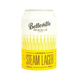 Belleville Steam Lager English beer