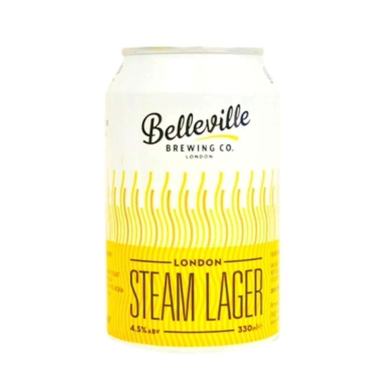Belleville Steam Lager English beer