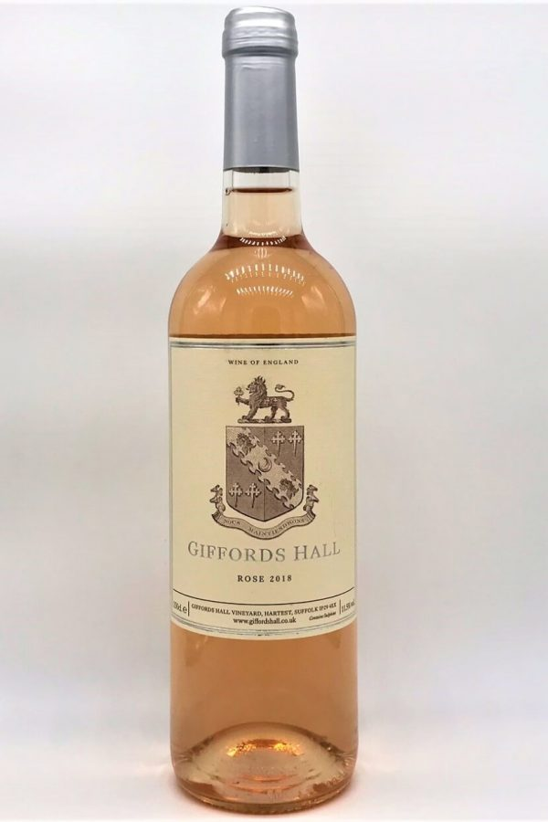 Giffords Hall Rosé 2018 English Rosé Wine