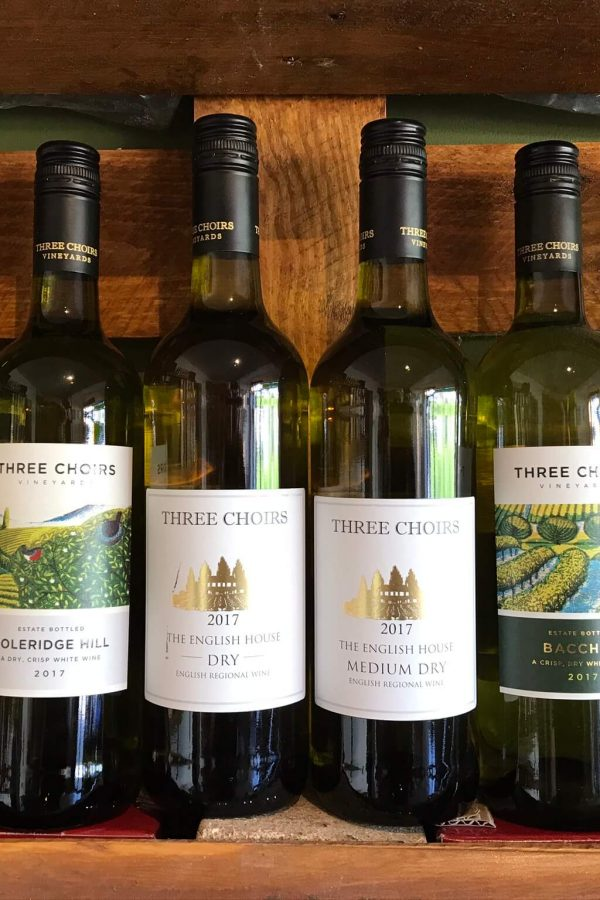 Three Choirs English White Wines