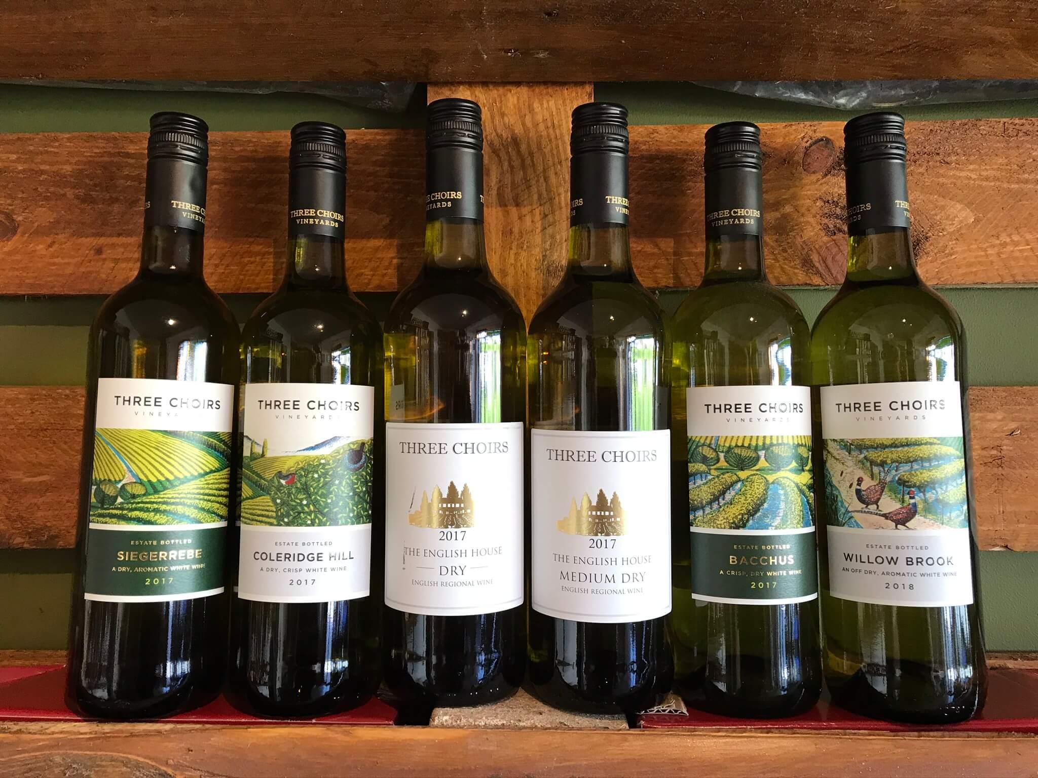 Three Choirs English White Wines