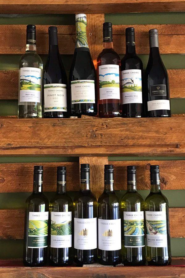 Three Choirs Dozen English Wines