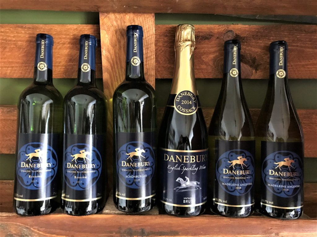 Danebury Mixed Case English Wine