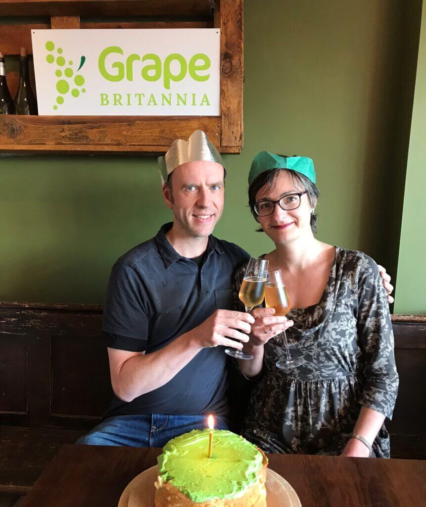 Grape Britannia first birthday