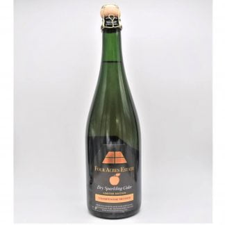 Four Acres Estate Sparklnig Cider 2018 English Cider