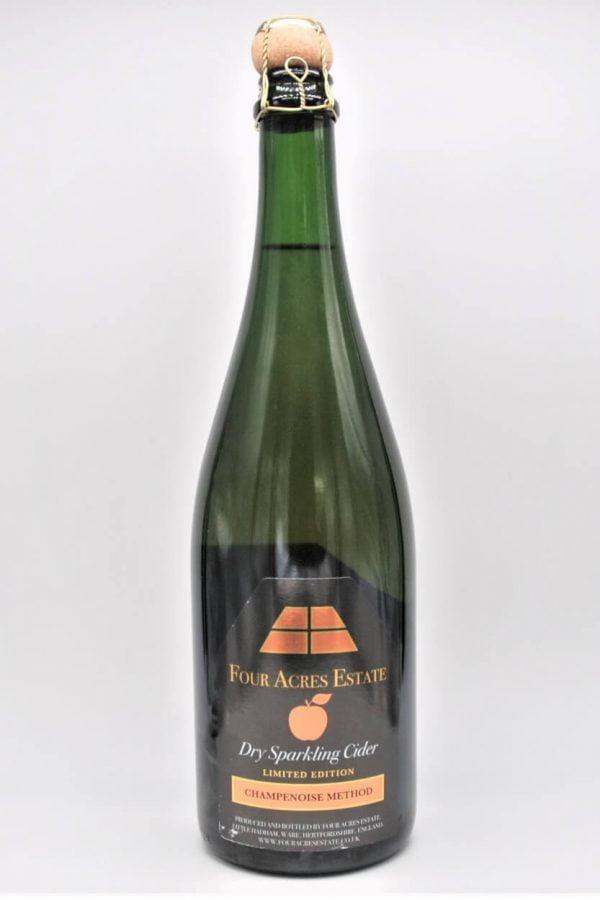 Four Acres Estate Sparklnig Cider 2018 English Cider