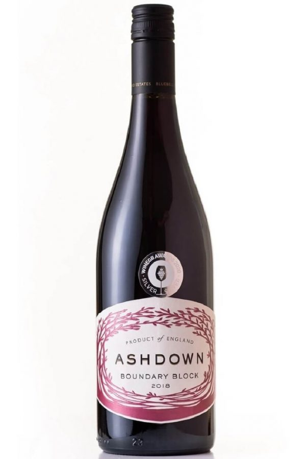 Bluebell Vineyard Estates Ashdown Boundary Block 2018 English Red Wine