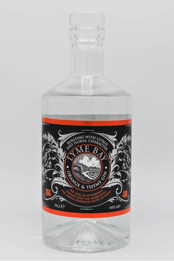 Lyme Bay Orange and Thyme Gin English Gin