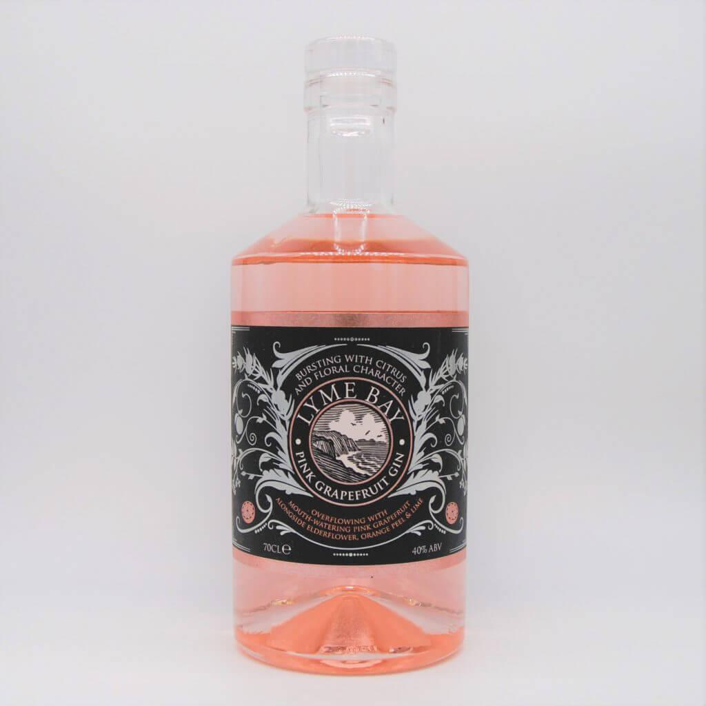 Lyme Bay Pink Grapefruit Gin English Gin