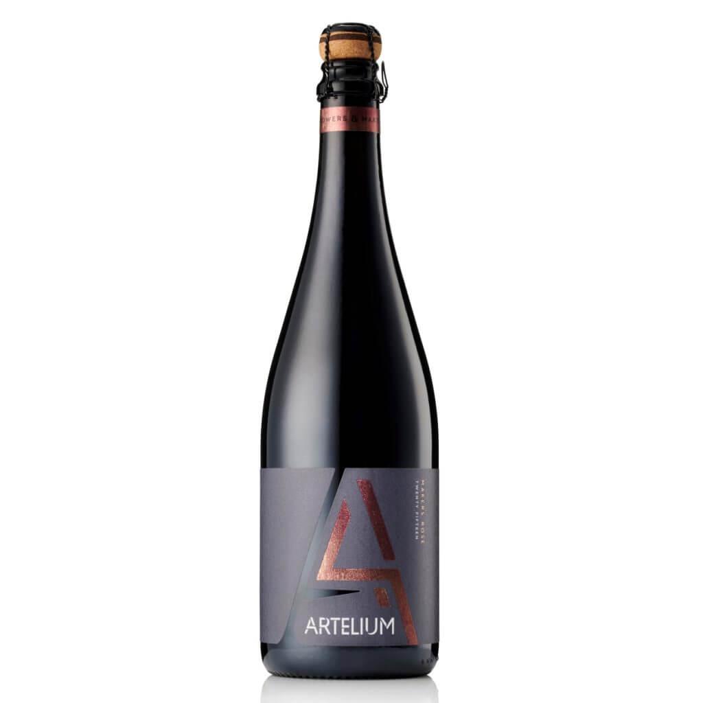 Artelium Wine Estate Makers Rosé 2015 English Sparkling Wine