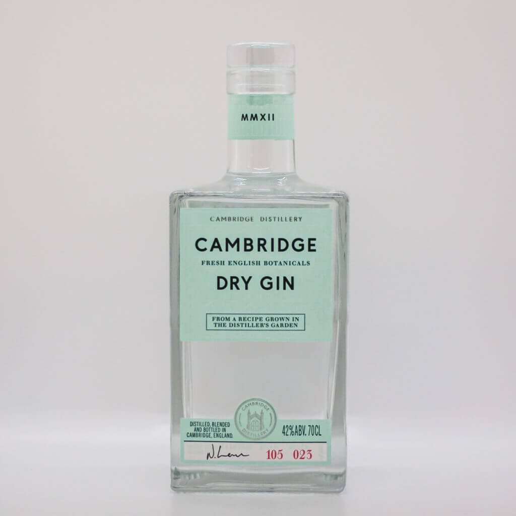Cambridge Distillery Cambridge Dry Gin English Gin