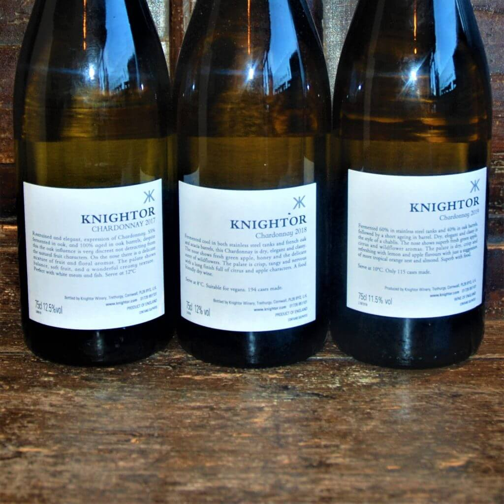 Knightor Winery Chardonnay English White Wine