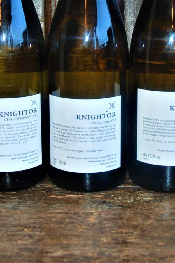 Knightor Winery Chardonnay English White Wine
