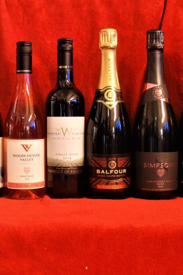 English Pinot Noir English Red Wine Englsih Sparkling Wine English White Wine