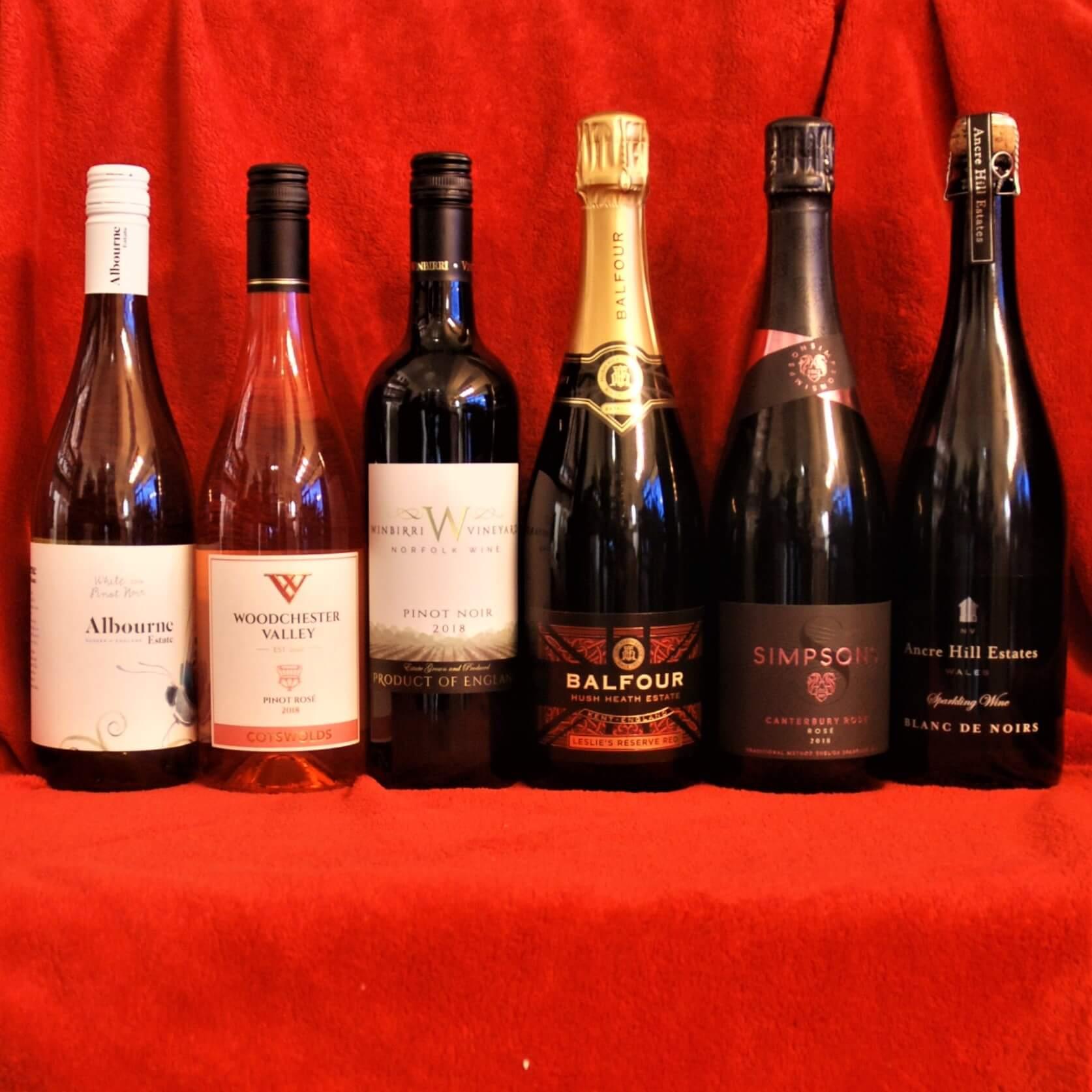 English Pinot Noir English Red Wine Englsih Sparkling Wine English White Wine