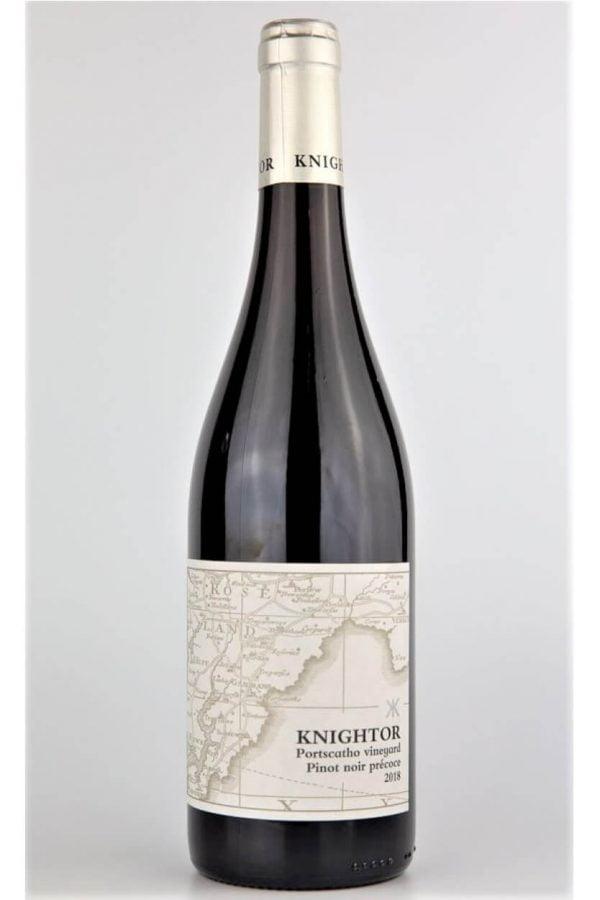 Knightor Winery Pinot Noir Précoce 2018 English Red Wine