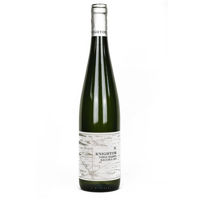 Knightor Winery 3 Barrels Bacchus 2019 English White Wine